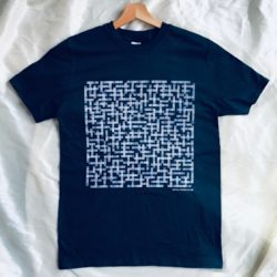 Image of Manchester City name-chains navy t-shirt