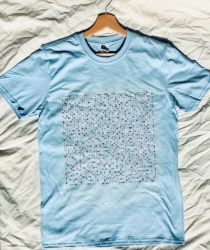image of man city pale blue name-chains t-shirt