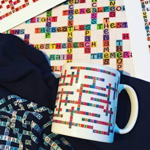 photo of name-chains mug, prints and t-shirt
