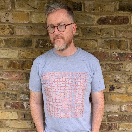 image of geoff lloyd wearing grey game of thrones name-chains t-shirt