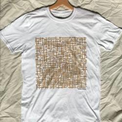 image of fac51 the hacienda name-chains white t-shirt